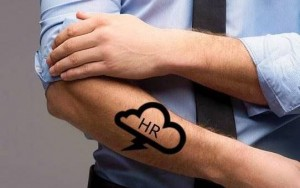HR in the Cloud Tattoo - Copyright Glass Bead Consulting